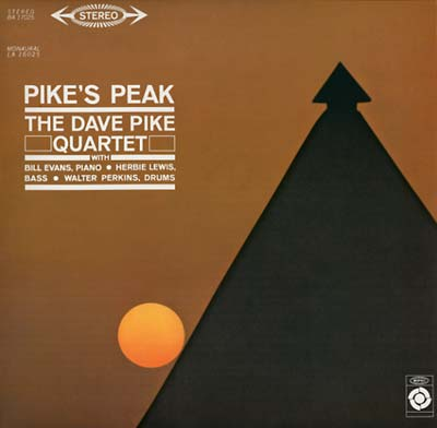 THE DAVE PIKE QUARTET : Pike's Peak - LP - EPIC - Forced Exposure