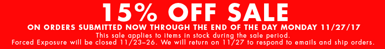 15% OFF ALL IN STOCK ITEMS!